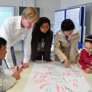 Trainer with Chinese students